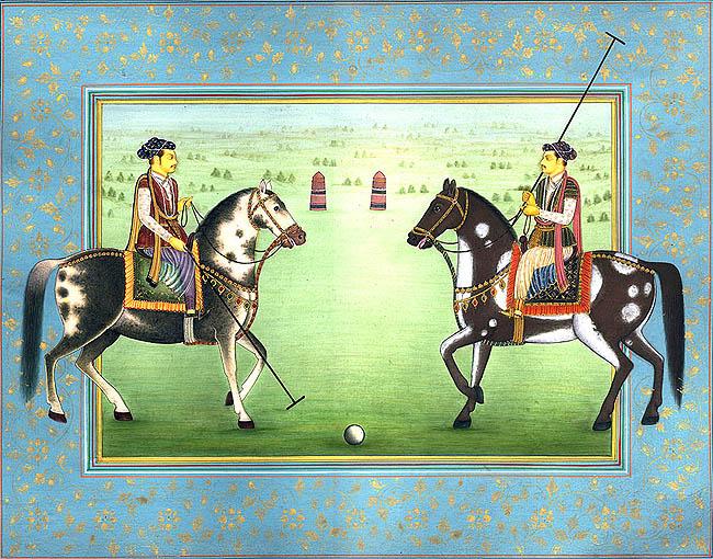 princes_playing_polo_mh84