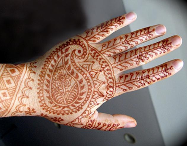 L grima gran mogol for Henna para manos